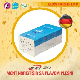 Mont norist-sir sa plavom plesni cca 3 kg