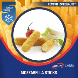 Mozzarella sticks 6x1 kg