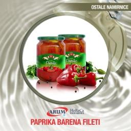Paprika barena fileti 4.250gr danban
