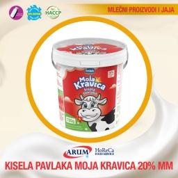 Pavlaka kravica 20% 700g (6/1#)