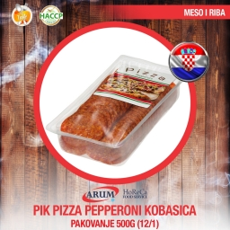 Pik pizza pepper. kobasica 500gr (12/1#)