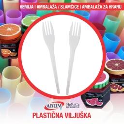 Plasticna viljuska 100/1