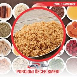 Porcioni secer smedji 70x60 4g (500/1#)