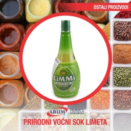 Prirodni vocni sok limeta 500ml limmi