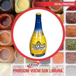 Prirodni vocni sok limuna 500ml limmi