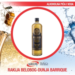 Rakija belobog-dunja barrique 0,04