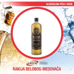 Rakija belobog-medovaca 0.04 l