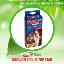 Rukavice vinil m top star