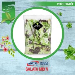 Salat mix vi 500 gr (iceberg, radic, rosa, endivija)