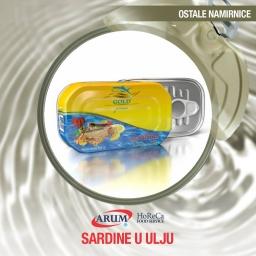 Sardina u ulju 125g