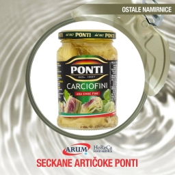 Seckane articoke 660ml ponti
