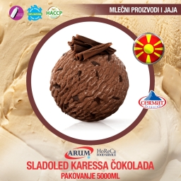Sladoled karessa cokolada 5000ml