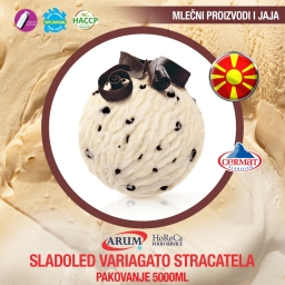 Sladoled variagato stracatela 5000ml