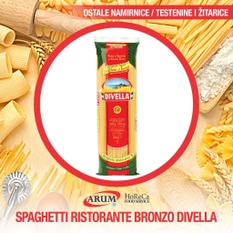Spaghetti ristorante bronzo divella 500gr