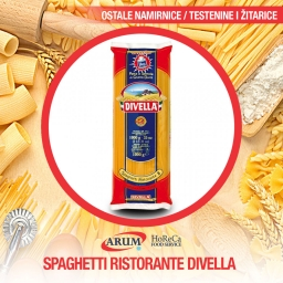 Spaghetti ristorante divella 20/1 1kg