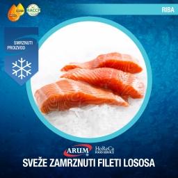 Sveze zamrznuti fileti lososa