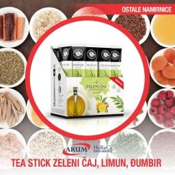 Tea stick zeleni caj, limun,djumbir 16/1