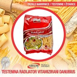 Testenina radijator vitamizirani danubius 400gr