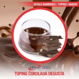 Toping cokolada 1kg degusta
