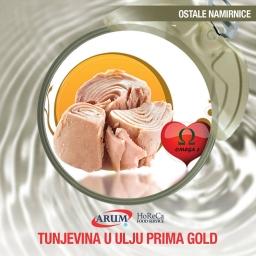 Tunjevina u ulju prima gold 1705gr