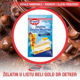 ZELATIN U LISTU BELI GOLD 10gr (25/1#)