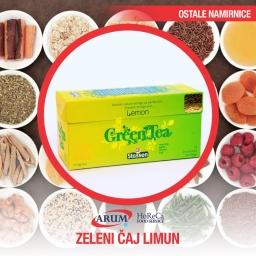 Zeleni caj -limun ( kesice 25 kom)