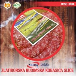 ZLATIBORSKA BUDIMSKA KOBASICA  slice 100G