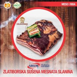 Zlatiborska mesnata slanina 250g