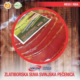 Zlatiborska suva pecenica 250g slice (10kom/#)