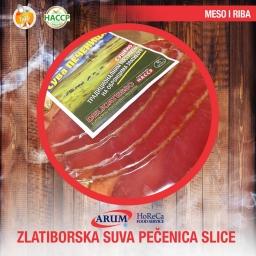 ZLATIBORSKA SUVA PECENICA slice 100 g
