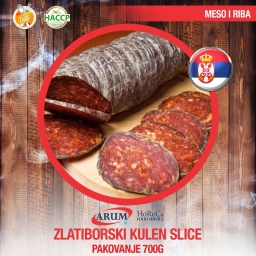 Zlatiborski kulen 250g slice (10/#)