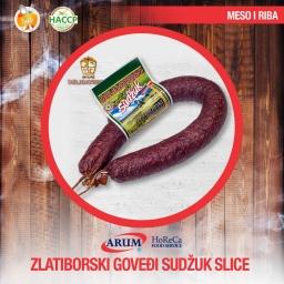 ZLATIBORSKI SUDZUK SLICE 100gr