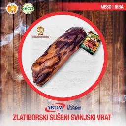 Zlatiborski suseni svinjski vrat komad