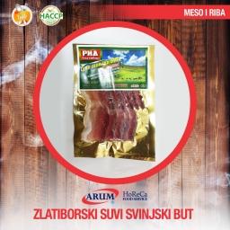Zlatiborski suvi svinjski but 250g slice (10/#)