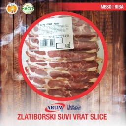 Zlatiborski suvi vrat 250g slice (10kom/#)