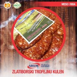 Zlatiborski trofejni kulen 250g slice (10/1#)