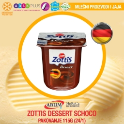 Zottis dessert 115g schoco (24/1#)