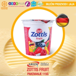 Zottis fruit 115g