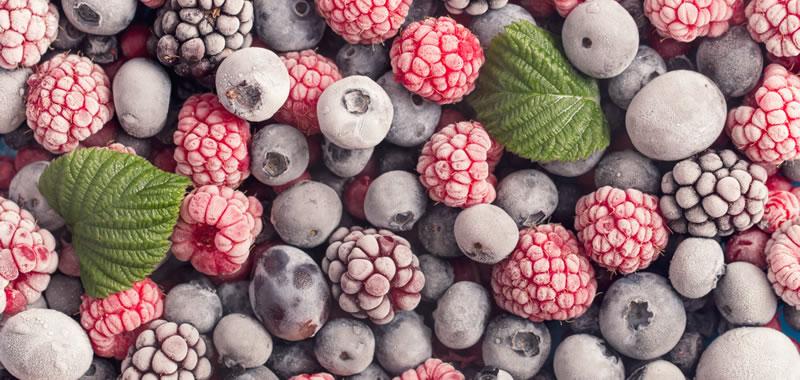 Zamrznuto voće - prodaja